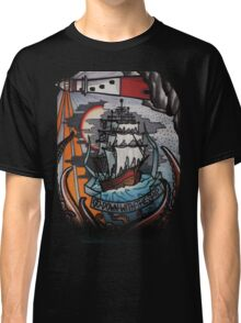 go down with the ship Classic T-Shirt