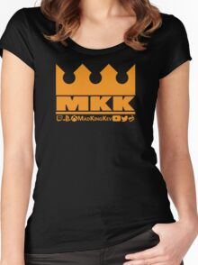 MadKingKev Logo Women's Fitted Scoop T-Shirt