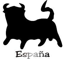 Black Bull España Photographic Print