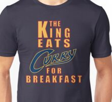 The King Eats Curry - Navy Unisex T-Shirt