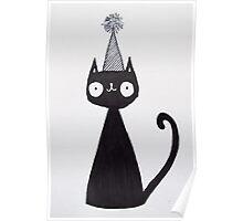 Celebration Cat  Poster