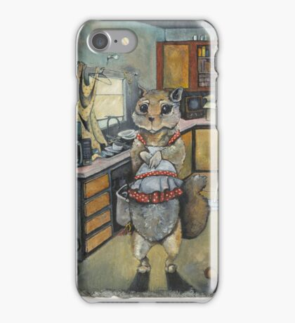 Hoarding Squirrel iPhone Case/Skin
