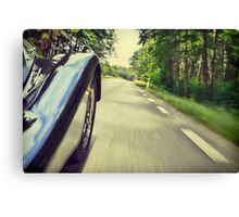 Faster.   Canvas Print