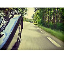 Faster.   Photographic Print