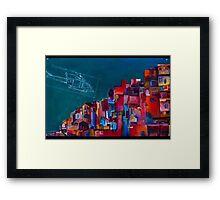 Slums Framed Print