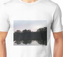 Murray River reflection Unisex T-Shirt