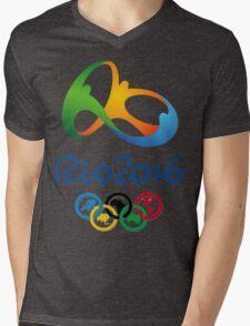 Olympics in Rio 2016 Best Logo Mens V-Neck T-Shirt