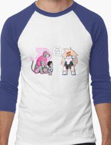The Pink Paladin Men's Baseball ¾ T-Shirt