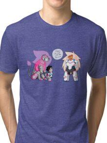 The Pink Paladin Tri-blend T-Shirt