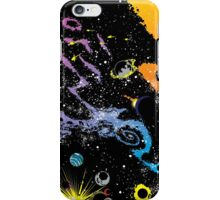 spacey placey  iPhone Case/Skin