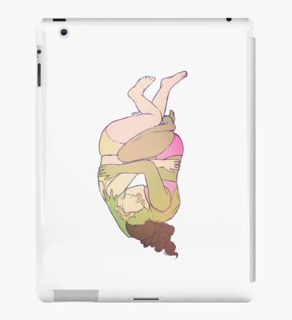 Elphaba and Glinda Cuddle iPad Case/Skin