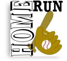 Baseball Lover Canvas Print