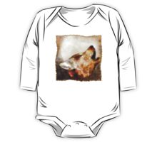 abstract howling wolf One Piece - Long Sleeve