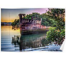 Homebush Shipwreck Poster