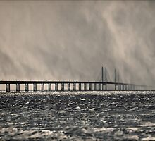 Snow Storm Out at Sea. by eXparte-se