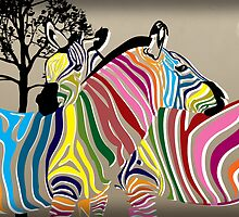zebra  by motiashkar