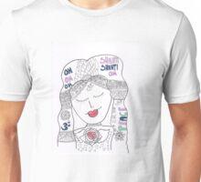Shanti on my mind Unisex T-Shirt