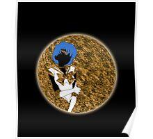 Sailor Planet Mercury Poster