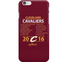 Cleveland Cavaliers 2016 NBA Champions vs. Golden State Warriors iPhone Case/Skin