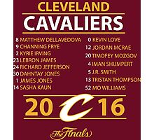 Cleveland Cavaliers 2016 NBA Champions vs. Golden State Warriors Photographic Print