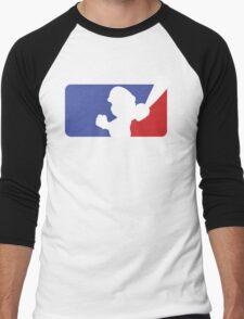 Major League Mario (No Border) Men's Baseball ¾ T-Shirt