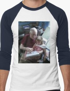 Drawing With Gracie Men's Baseball ¾ T-Shirt