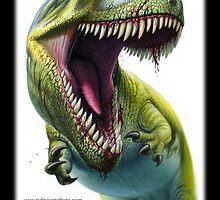 Giganotosaurus carolinii by Paleocreations