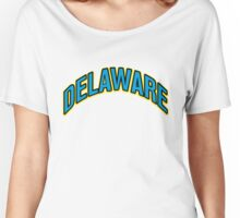 University of Delaware arch Women's Relaxed Fit T-Shirt