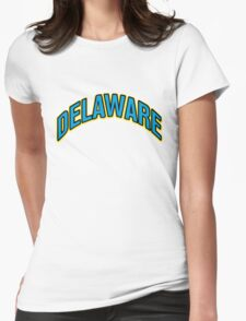 University of Delaware arch Womens Fitted T-Shirt