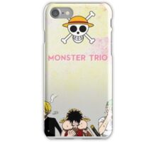 Monster Trio Mugiwaras iPhone Case/Skin