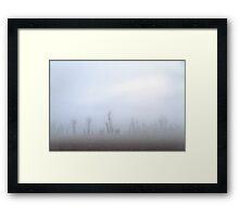 Fogbank. Framed Print