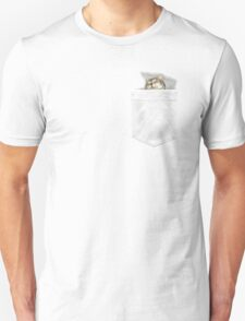 Cat Sleeping in my Pocket EDR 904 Unisex T-Shirt