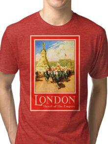 London - Heart of the Empire Tri-blend T-Shirt