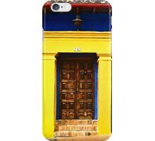 Colorful Vintage Facade iPhone Case/Skin