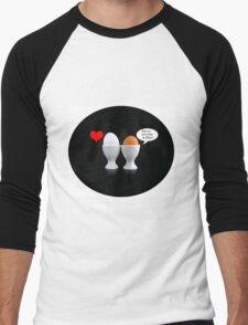 Kiss The Cook Pillow II Men's Baseball ¾ T-Shirt