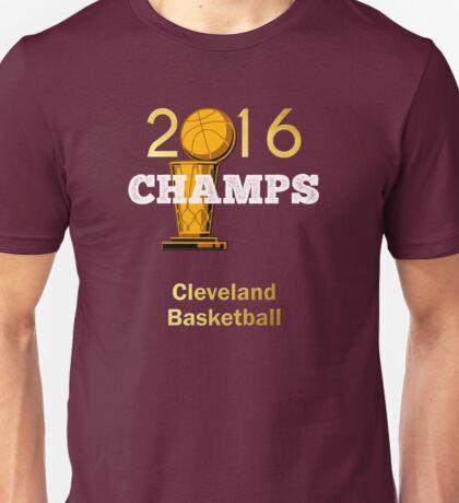 Cleveland basketball 2016 Champions Unisex T-Shirt