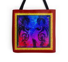 Dragons meet Logo Tote Bag