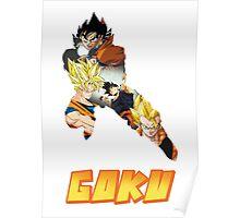 Goku DBZ w/ Title Poster