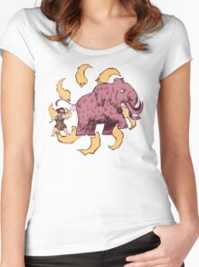 UPickVG 5 Mammoth by Fusspot Women's Fitted Scoop T-Shirt