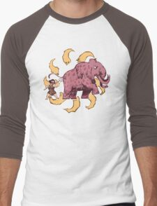 UPickVG 5 Mammoth by Fusspot Men's Baseball ¾ T-Shirt