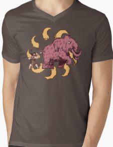 UPickVG 5 Mammoth by Fusspot Mens V-Neck T-Shirt