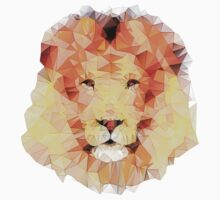 abstract lion Kids Clothes