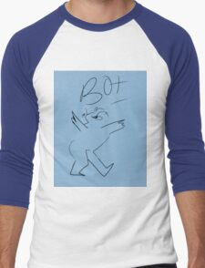 BOI Humanoid  Men's Baseball ¾ T-Shirt
