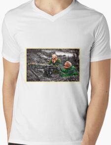 wartime : target practice Mens V-Neck T-Shirt