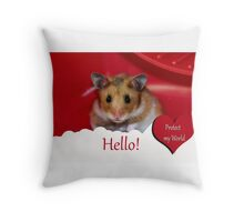 Animal Welfare Throw Pillow