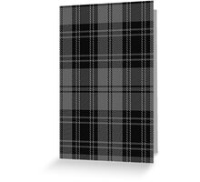 02455 Douglas, Grey (Vestiarium Scoticum) Clan/Family Tartan  Greeting Card
