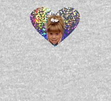 HOLOGRAPHIC HEART MICHELLE TANNER  Unisex T-Shirt