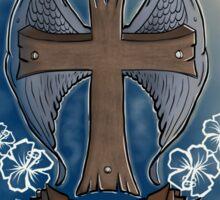 Angels Exist Sticker