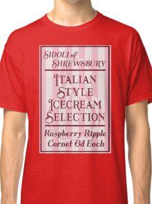 The Best British Made Italian Icecream! Classic T-Shirt