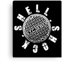 Shellshock Sewer V2 Canvas Print